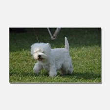 West Highland Terrier Car Magnet 20 x 12