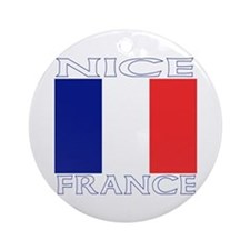 Nice, France Ornament (Round)