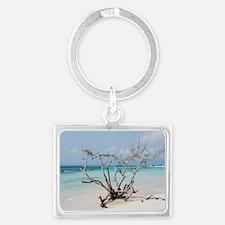 Baby Beach in Aruba Landscape Keychain