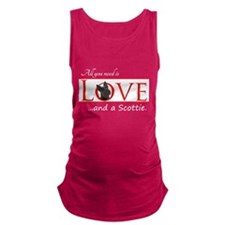 Love a Scottie Maternity Tank Top