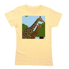 Giraffes Girl's Tee