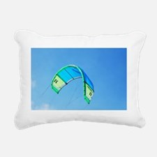 Kite for Kitesurfing Rectangular Canvas Pillow