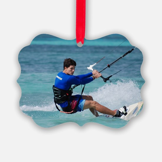 Kiteboarder Ornament