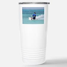 Kitesurfer Stainless Steel Travel Mug