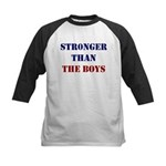 Stronger Than the Boys Baseball Jersey