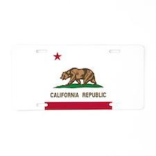 Flag of California Aluminum License Plate