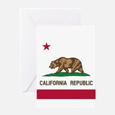 Flag of California Greeting Cards