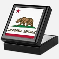 Flag of California Keepsake Box
