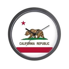 Flag of California Wall Clock