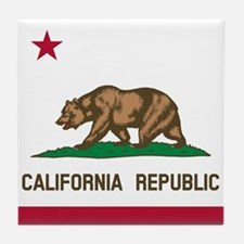 Flag of California Tile Coaster