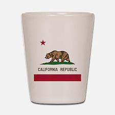 Flag of California Shot Glass