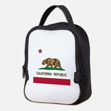 Flag of California Neoprene Lunch Bag