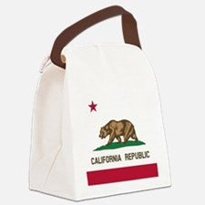 Flag of California Canvas Lunch Bag