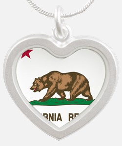 Flag of California Necklaces