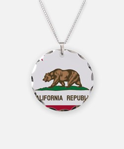 Flag of California Necklace