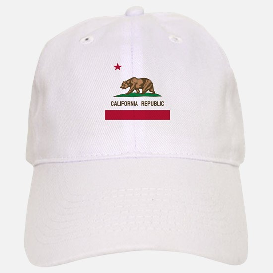 Flag of California Baseball Baseball Cap
