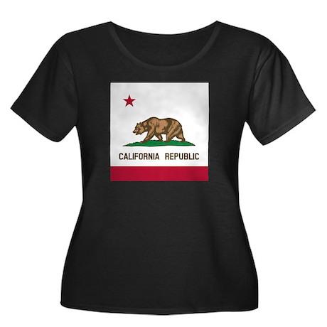 Flag of California Plus Size T-Shirt