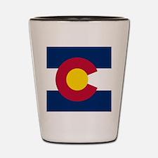 Flag of Colorado Shot Glass