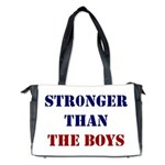 Stronger Than The Boys Diaper Bag