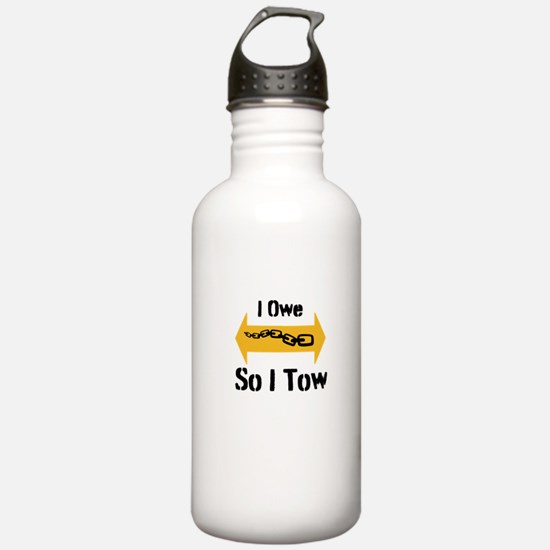 Tow Truck Style Water Bottle