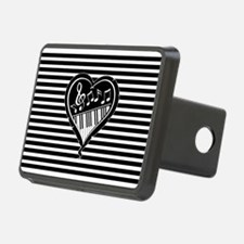 musical heart with piano keys and music notes Hitc