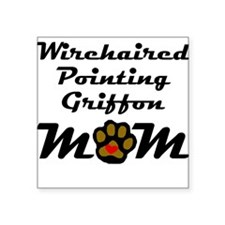 Wirehaired Pointing Griffon Mom Sticker