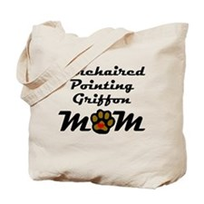 Wirehaired Pointing Griffon Mom Tote Bag