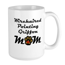 Wirehaired Pointing Griffon Mom Mugs