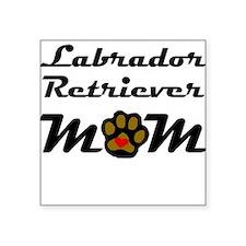 Labrador Retriever Mom Sticker