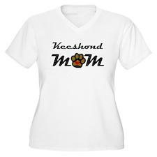Keeshond Mom Plus Size T-Shirt