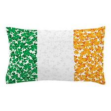 Shamrock Irish Flag Pillow Case