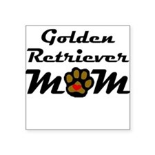Golden Retriever Mom Sticker