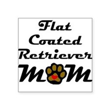 Flat-Coated Retriever Mom Sticker