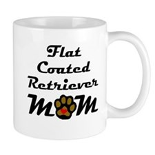 Flat-Coated Retriever Mom Mugs