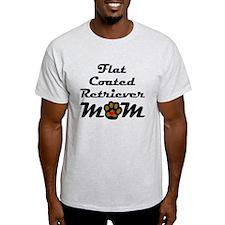 Flat-Coated Retriever Mom T-Shirt