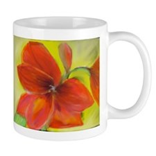 Blooming Amaryllis Mug