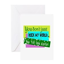 You Tilt This Earth Greeting Cards