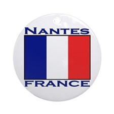Nantes, France Ornament (Round)