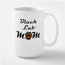 Black Lab Mom Mugs