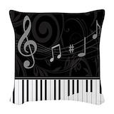 Piano Woven Pillows