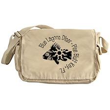 Blue Lagoon Diner Messenger Bag