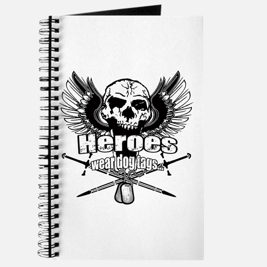 Heroes wear dog tags 3 Journal