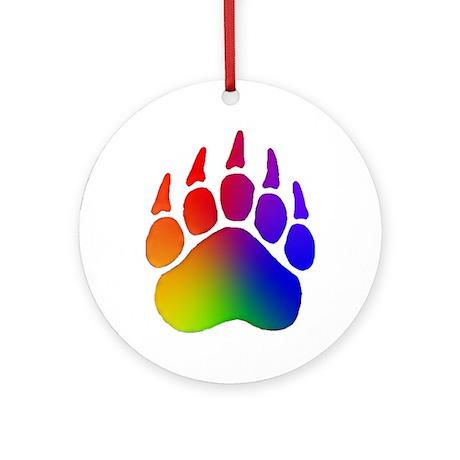 Rainbow Paws - Ornament (Round)