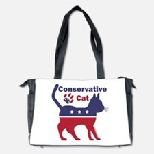 Conservative Cat Intro Diaper Bag
