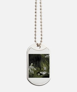 Daniel And The Lions Den Dog Tags
