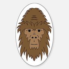 Bigfoot Face Decal