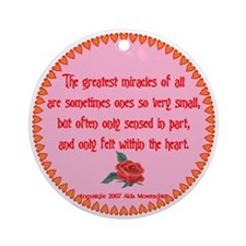 Miracles Ornament (Round)