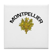 Montpellier, France Tile Coaster