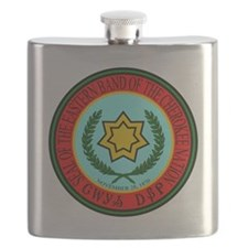 Eastern Band Of The Cherokee Seal Flask