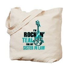 RockinTealFor SIsterInLaw Tote Bag